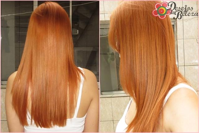 ruiva: cabelo ruivo yellow 9.4 e 9.3
