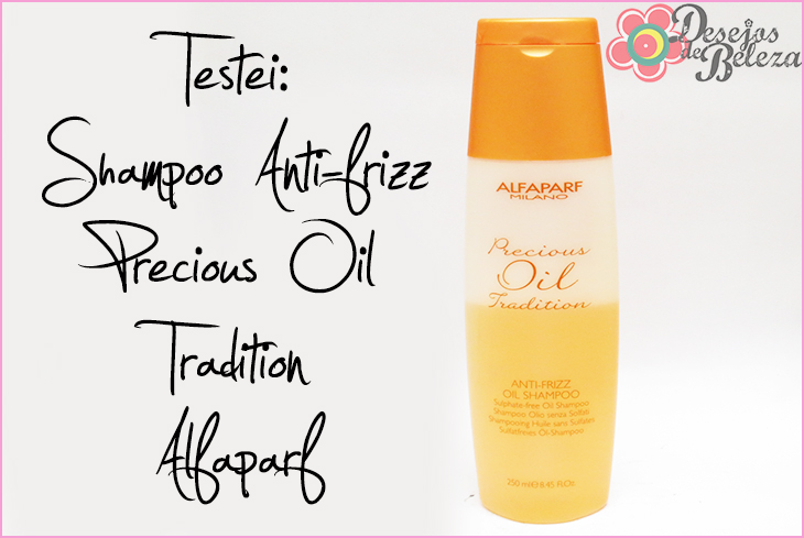 alfaparf precious oil tradition shampoo