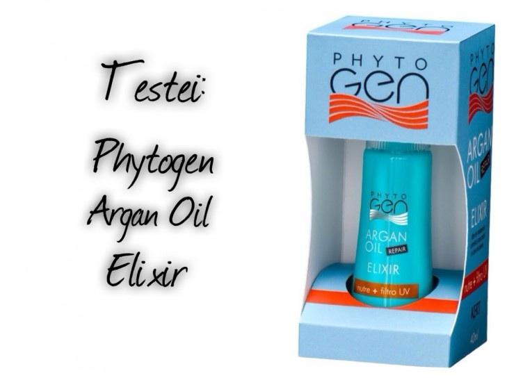 Testei: Phytogen Argan Oil Elixir