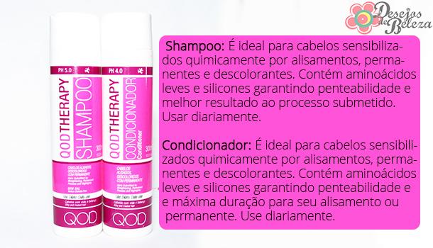 qod therapy shampoo e condicionador - o que a marca diz 2 - desejos de beleza