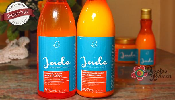 Testei: Shampoo e Condicionador Jade Fine Cosméticos