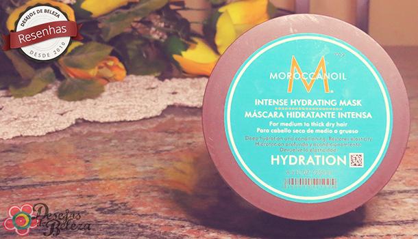 Testei: Moroccanoil Máscara Hidratante Intensa