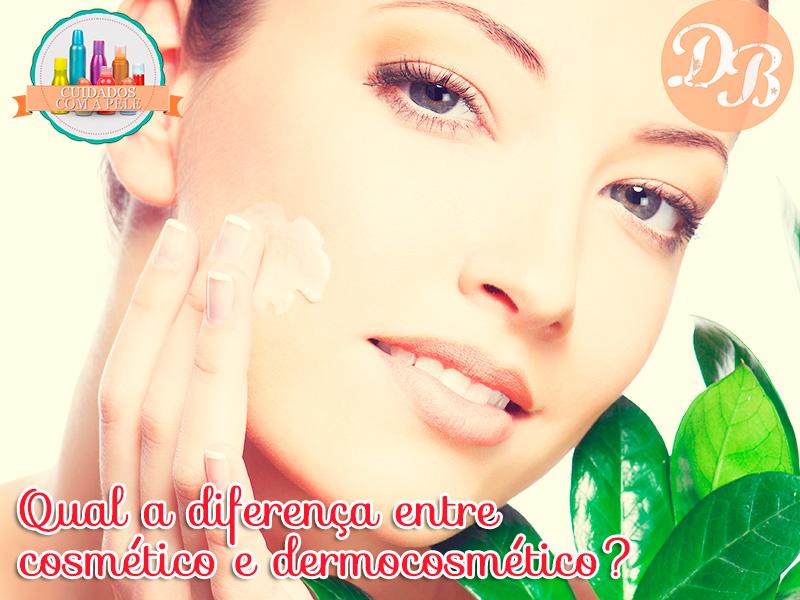 Qual a diferença entre cosmético e dermocosmético