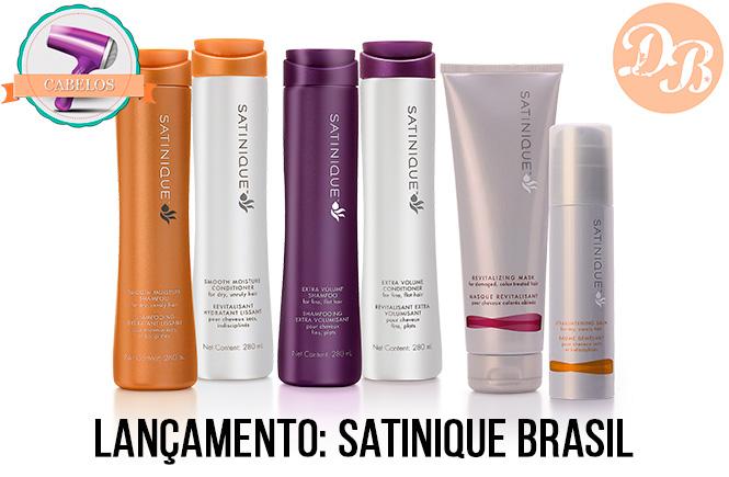 Lançamento: Satinique Brasil