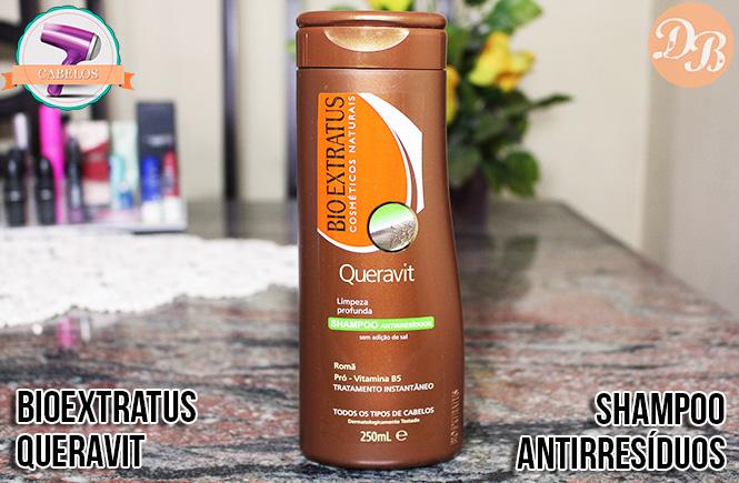 Testei: Shampoo Antirresíduos Bio Extratus
