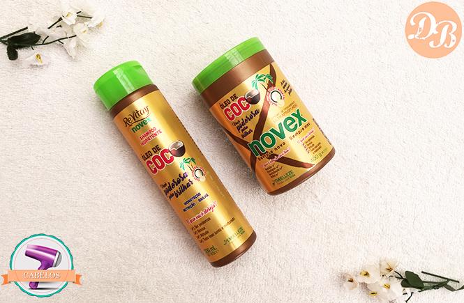 Testei: Novex Óleo de Coco – Shampoo e Máscara