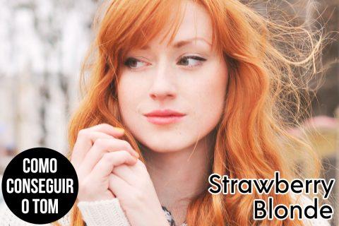 Como conseguir o tom: Strawberry Blonde