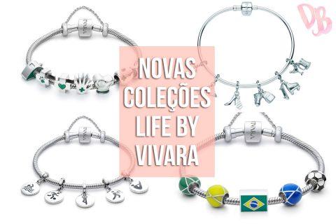 Novas Coleções Life by Vivara: Profissões, Esportes e Deu Match