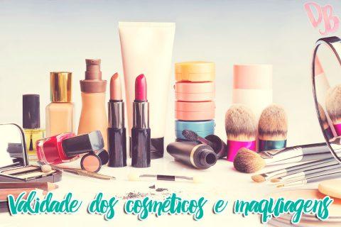 Validade dos cosméticos e maquiagens