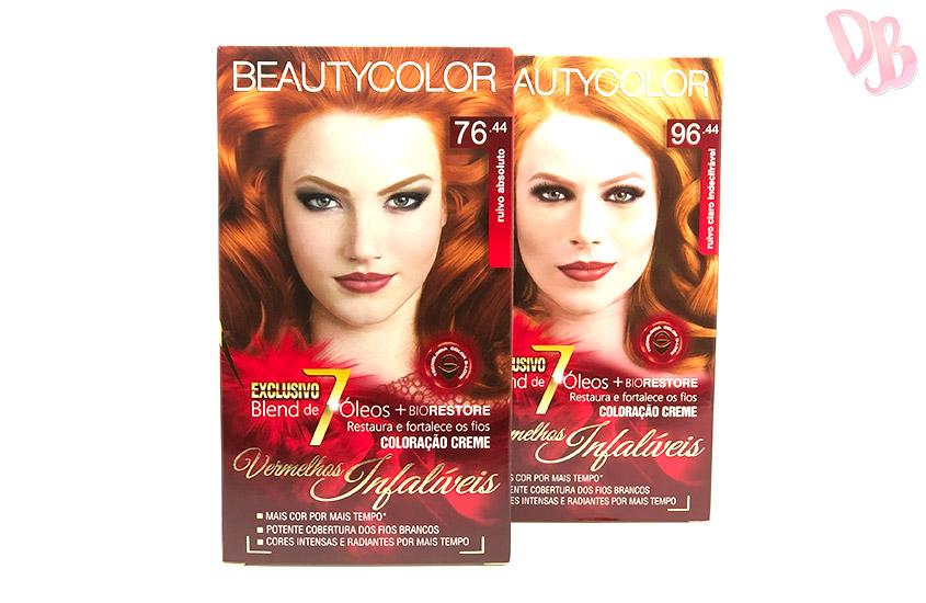 Testei: Beauty Color 7644 e 9644