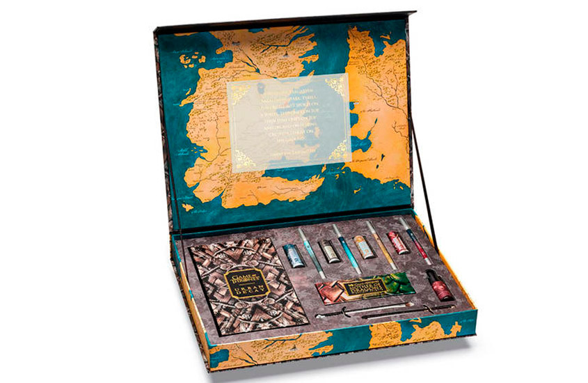 game of thrones urban decay kit completo