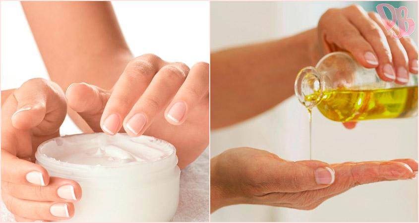 óleo corporal versus hidratante